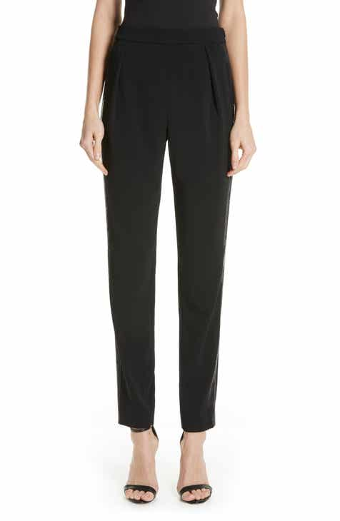 St. John Collection Diana Stretch Cady Ankle Pants by ST. JOHN COLLECTION