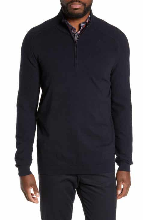 bad1f4652c0b68 Ted Baker London Justrun Slim Fit Funnel Neck Sweater