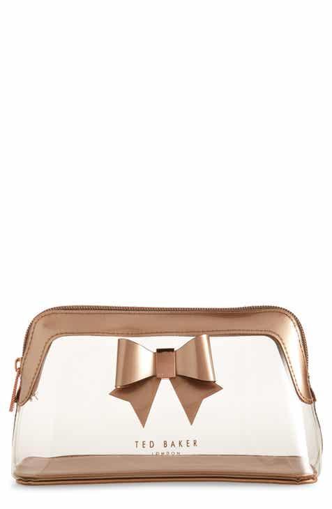 Ted Baker London Gemi Bow Clear Cosmetics Bag