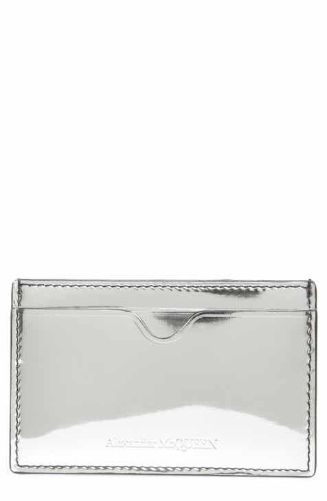 Alexander McQueen Mirror Patent Leather Card Case aa25525bae