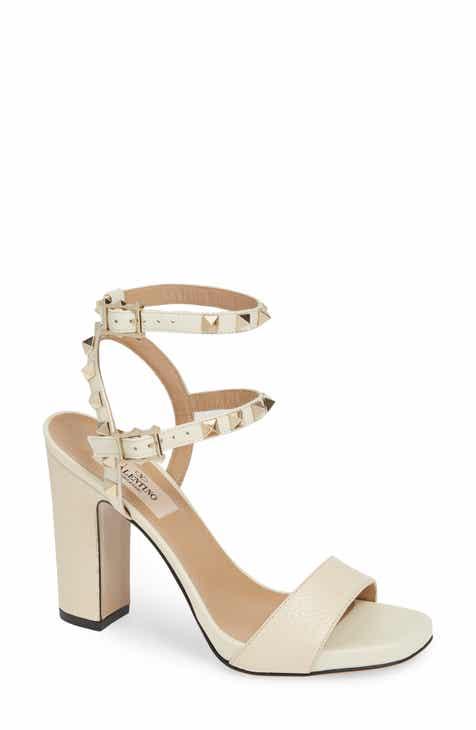 af0c264f9139 VALENTINO GARAVANI Rockstud Ankle Strap Block Sandal (Women)