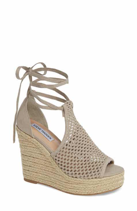 07fd528174d Steve Madden Sure Platform Wedge Sandal (Women)