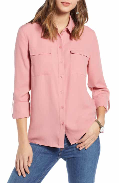 2bad1b46d244a 1901 Utility Shirt (Regular   Petite)