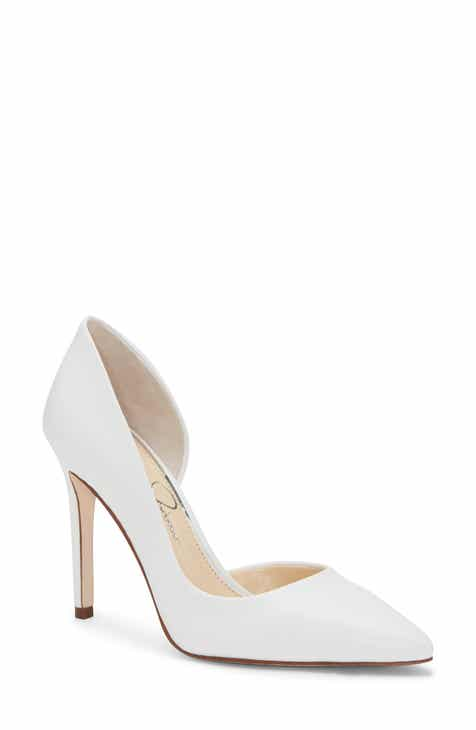 pretty nice high quality guarantee delicate colors white pumps | Nordstrom