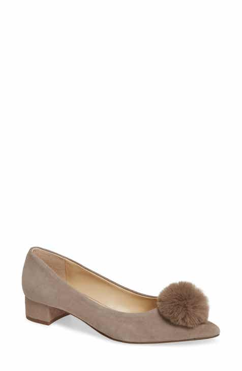 eb372405d407 Sole Society Mirem Faux Fur Pom Pump (Women)