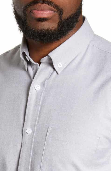 Nordstrom Men's Shop Brushed Sport Shirt