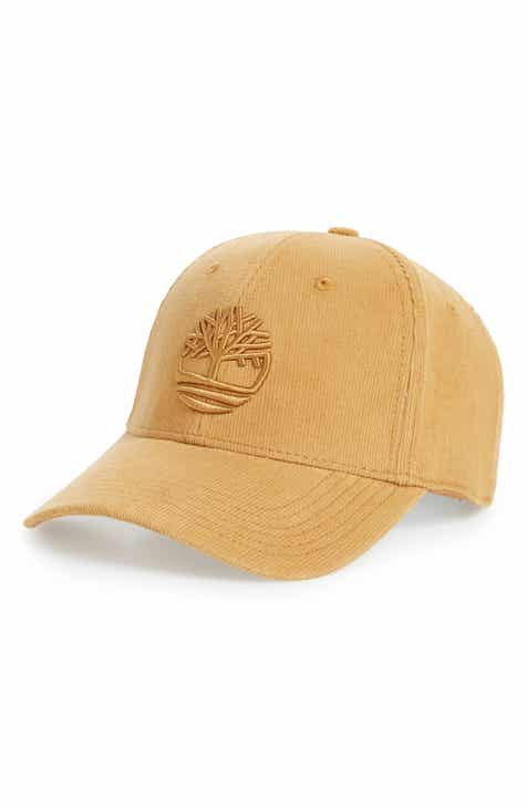 Timberland Logo Embroidered Corduroy Ball Cap 217367726f58