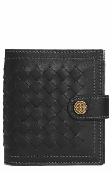 de7314d9013b Bottega Veneta Intrecciato Leather French Wallet