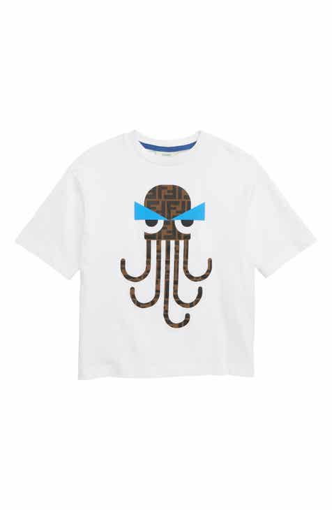 6bc296451 Fendi Octopus Logo T-Shirt (Toddler Boys, Little Boys & Big Boys)