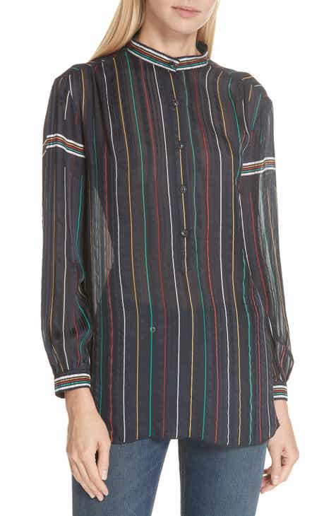 rag   bone Austin Stripe Silk Shirt dc801673b