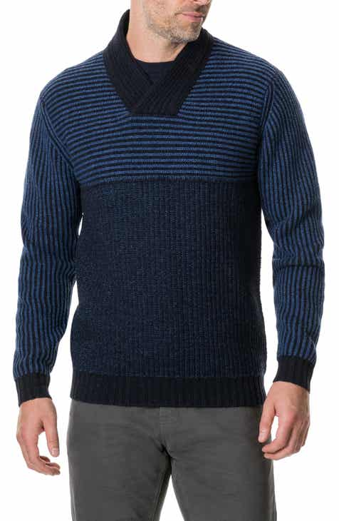 9bfc7d6a Rodd & Gunn Ettrick Shawl Neck Wool Blend Sweater