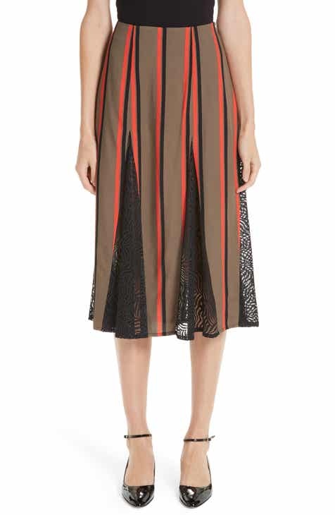 ATM Anthony Thomas Melillo Pull-On Silk Skirt by ATM ANTHONY THOMAS MELILLO