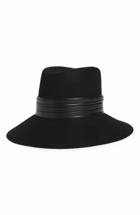 Saint Laurent Nina Fur Felt Hat 1b21596f7b22
