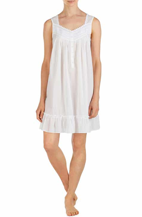 372ca38d0f Eileen West Cotton Lawn Nightgown