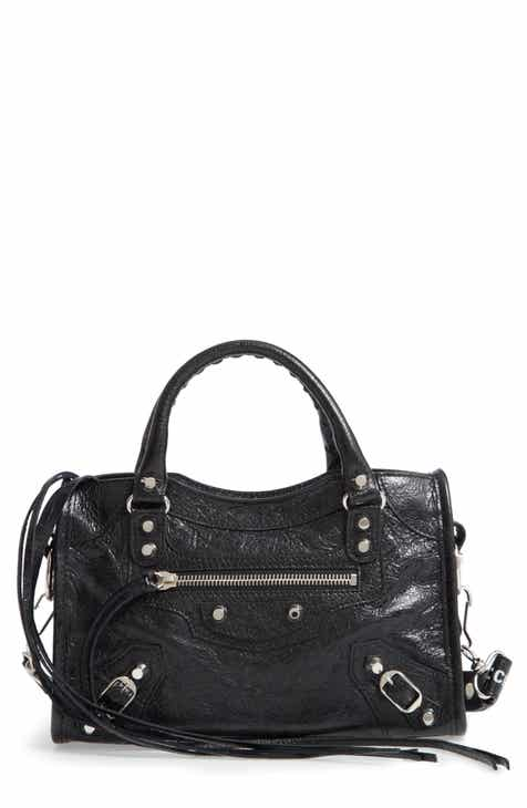 Balenciaga Mini Arena City Leather Satchel 17c1cda87966a