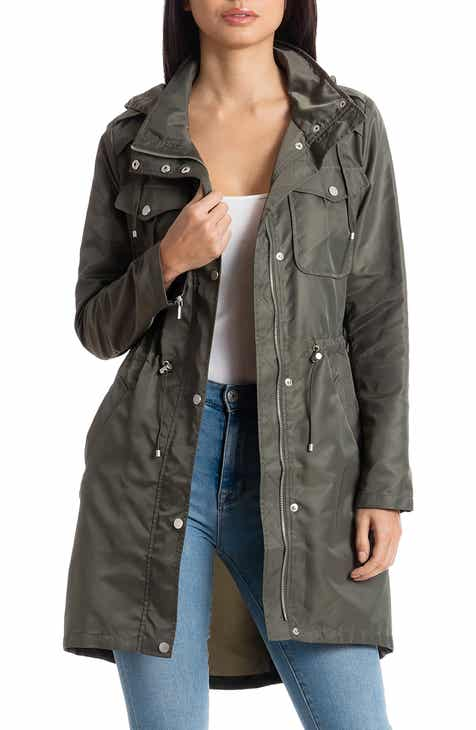 0ce3e32d32b38 Women s Mid-Length Rain Coats   Jackets