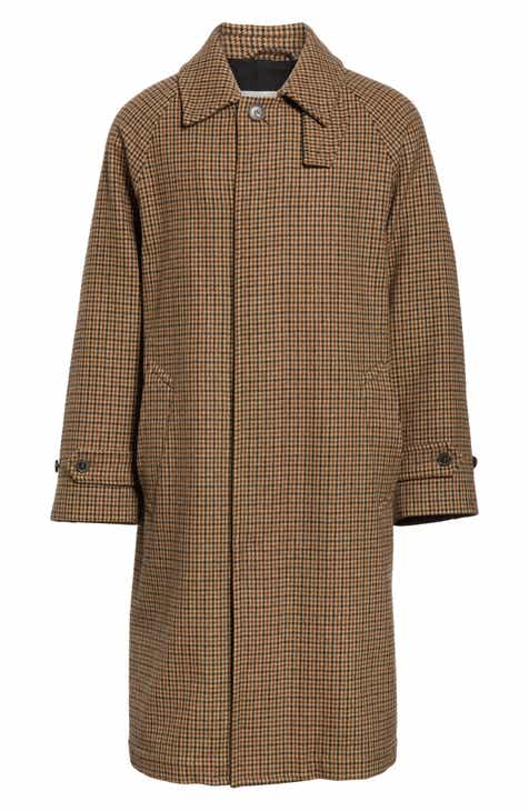 586bbd72ede Mackintosh Gents Gun Club Check Virgin Wool Coat