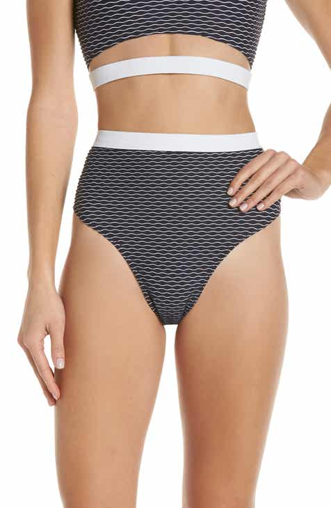 Chromat Drew High Waist Bikini Bottoms By CHROMAT by CHROMAT Amazing