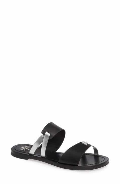 8ce21463d6df7 Tory Burch Ravello Double Band Slide Sandal (Women)