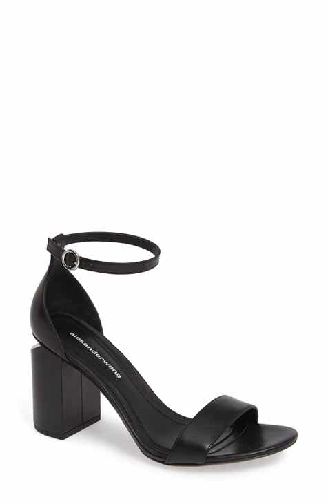 3203a9683419 Alexander Wang New Abby Ankle Strap Sandal (Women)