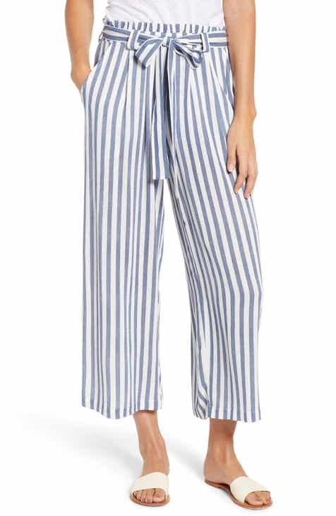 Sedona Wide Leg Ankle Pants (Regular   Petite) (Nordstrom Exclusive) b09689a31