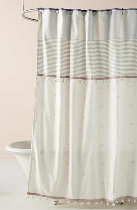 Anthropologie Rayas Shower Curtain
