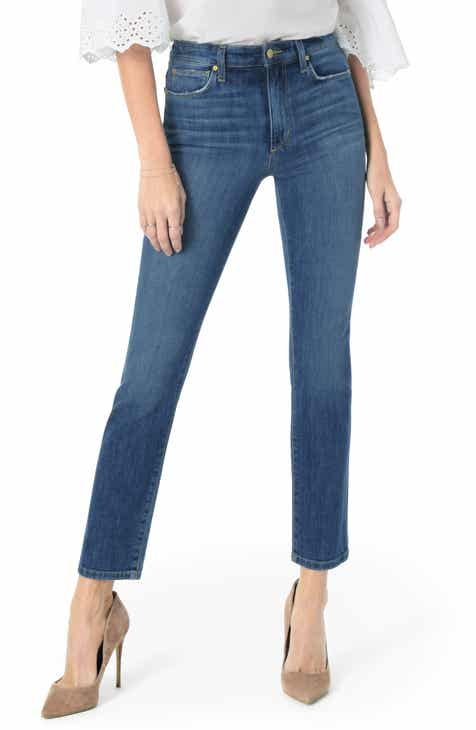 Joe's The Milla High Waist Ankle Straight Leg Jeans (Mallory) by JOES