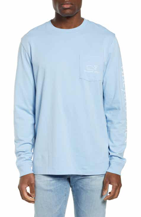 vineyard vines Vintage Long Sleeve Pocket T-Shirt ef12ae803