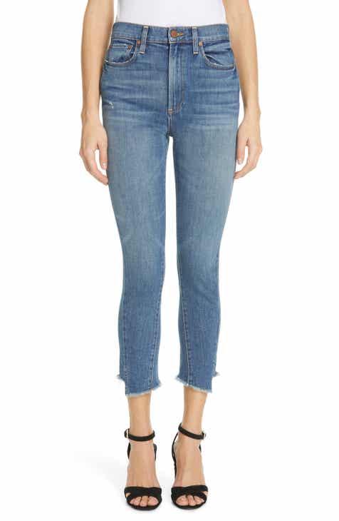 Alice + Olivia Jeans Step Hem High Waist Skinny Jeans (See You Soon) by ALICE AND OLIVIA JEANS