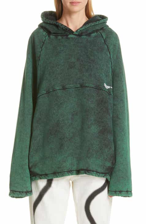 Martine Rose Acid Wash Hoodie by MARTINE ROSE