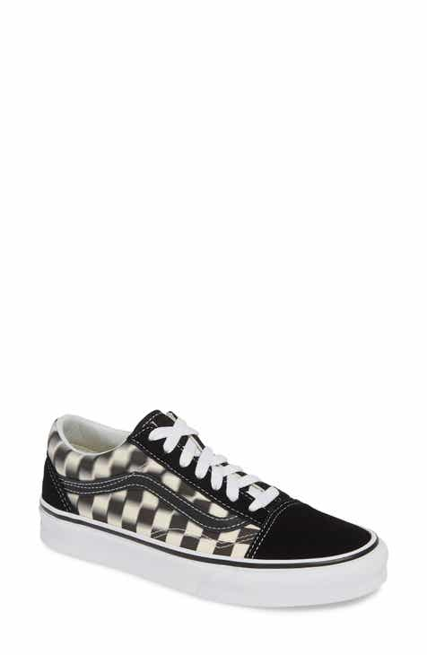 cc89e42620 Vans Old Skool Blur Checkerboard Sneaker (Women)