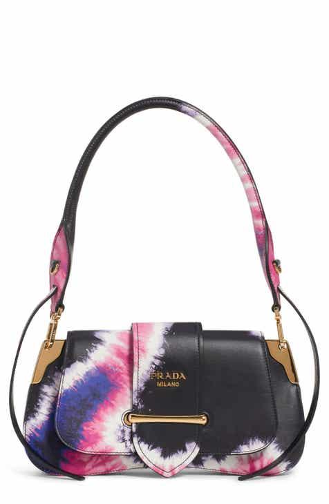 16beb8325db2 Prada Tie Dye Leather Top Handle Bag