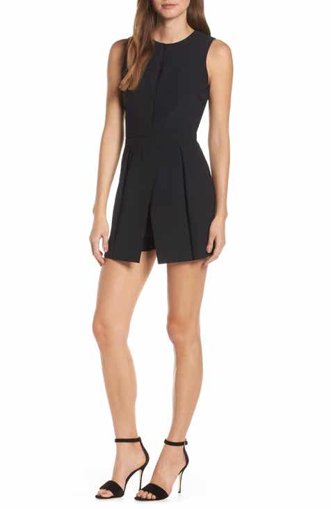 BP. Stripe Popover Romper (Plus Size) by BP