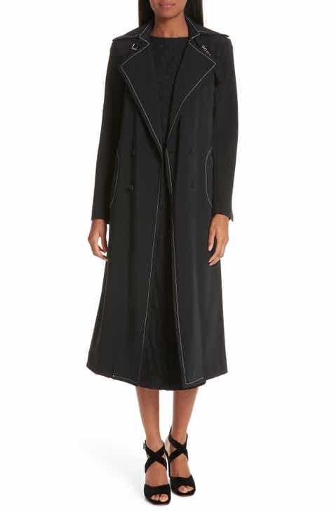 Rachel Comey Roe Contrast Stitch Trench Coat by RACHEL COMEY