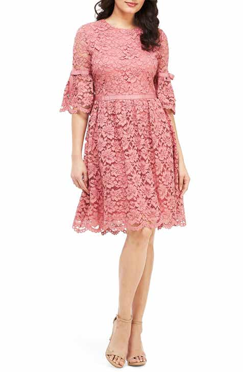 c48f28dfc673 Gal Meets Glam Collection Josephine Scallop Lace Fit   Flare Dress