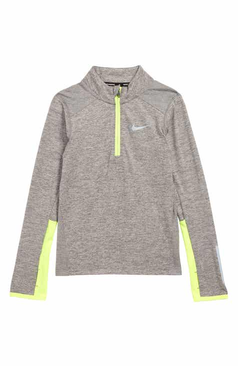 8d18d227962b Nike Dry Element Half Zip Pullover (Toddler Boys   Little Boys)