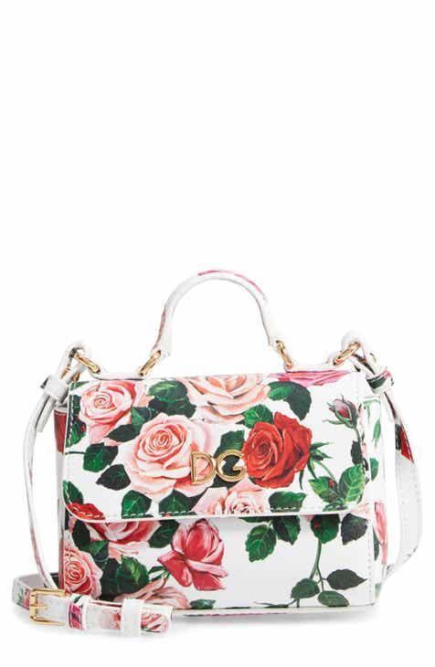 ed1b7dc5329 Dolce Gabbana Floral Print Handbag (Girls)