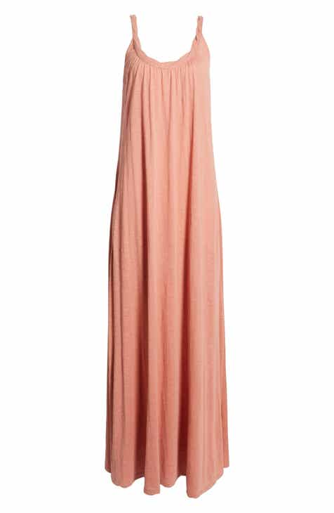 1f77b6afd571 Caslon® Twist Neck Maxi Dress (Regular & Petite)