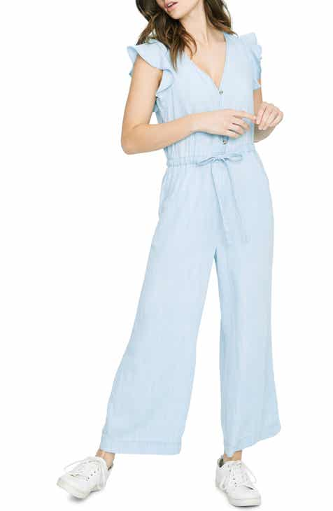 f560596d7541 Sanctuary Mica Ruffle Sleeve Jumpsuit (Regular   Petite)