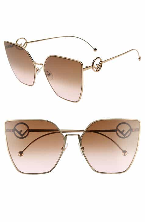 3059a189b5e Fendi F is Fendi 63mm Oversized Sunglasses