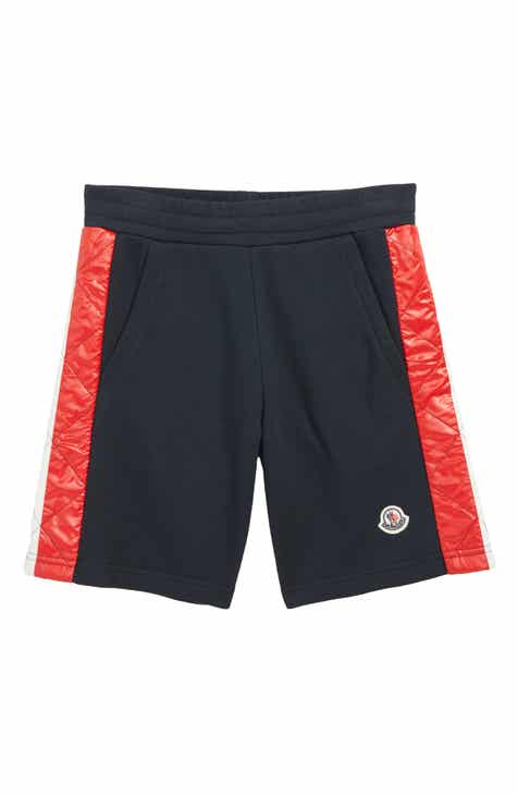 5635416b92885 Moncler Pantalone Corto Sweat Shorts (Little Boys & Big Boys)