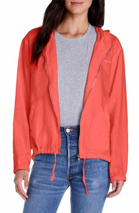 6bebc073cef9 Michael Stars Sierra Hooded Linen Jacket