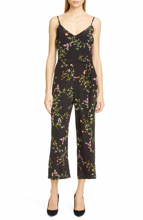 Tahari Stripe Wide-Leg Crepe Jumpsuit by TAHARI