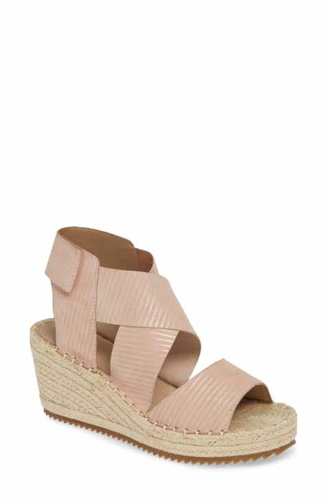 37f43e2b4e9 Eileen Fisher  Willow  Espadrille Wedge Sandal (Women)