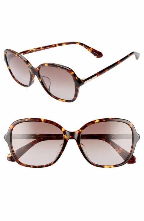 77286fc85cf kate spade new york bryleefs 56mm round sunglasses