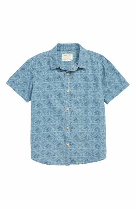 Sovereign Code Chasez Woven Shirt (Toddler Boys & Little Boys)