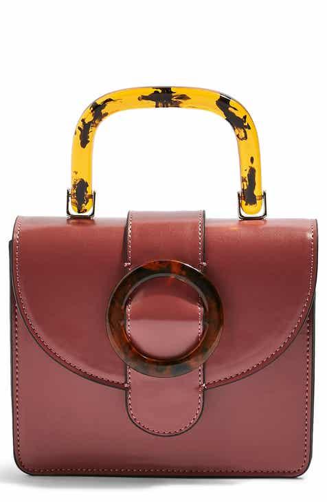 8441893cd26 Topshop Capri Buckle Crossbody Bag