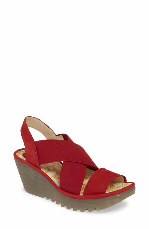 c2d57fe4d282 Fly London Yaji Cross Wedge Sandal (Women)