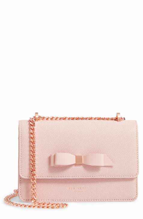 Ted Baker London Jayllaa Bow Leather Crossbody Bag aa23d0fad7867