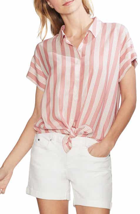 Vince Camuto Charisma Pathway Button Down Shirt (Regular & Petite)